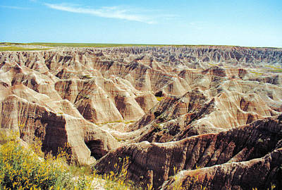 Photograph - Maze In The Badlands by Jan Amiss Photography
