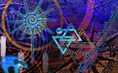 Digital Art - Mazes by Kenneth Armand Johnson