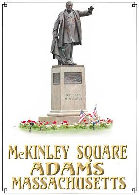 Digital Art - Mc Kinley Square by Len Stomski