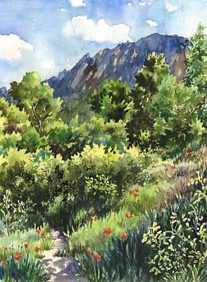 Rocky Painting - Mcclintock Trailhead by Anne Gifford