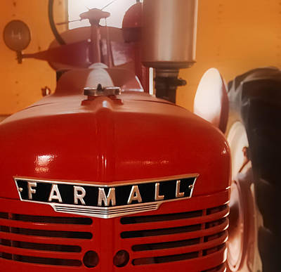 Mccormick Farmall Tractor - Model H Art Print