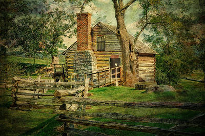 Mccormick Grist Mill Art Print by Kathy Jennings