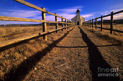 Photograph - Mcdougall Church by Bob Christopher