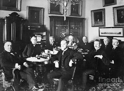President Mckinley Photograph   Mckinley U0026 Cabinet, 1900 By Granger