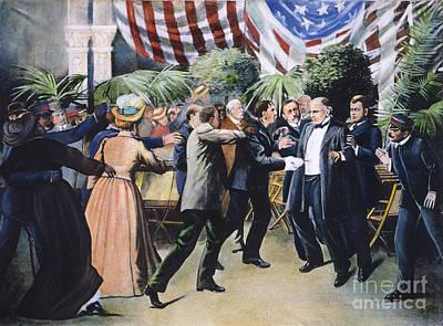 Mckinley Assassination Art Print