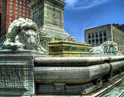 Buffalo City Hall Photograph - Mckinley Memorial by Tammy Wetzel