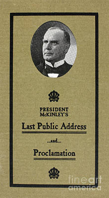Mckinleys Last Speech Art Print