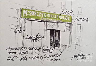 Mcsorley's Art Print
