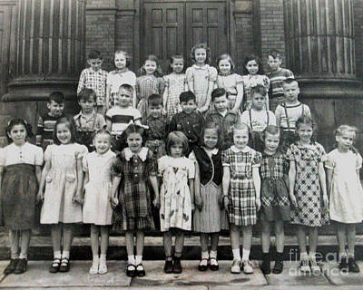 Photograph - Me And My 2nd Grade Class by Patricia Januszkiewicz