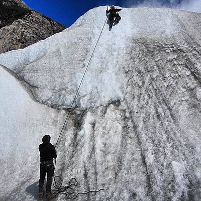 Extreme Sports Photograph - #me #i #myself #argentina #fitzroy by Alon Ben Levy