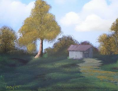 Meadow's Edge Art Print by Amity Traylor