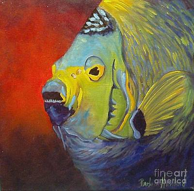 Mean Green Fish Art Print