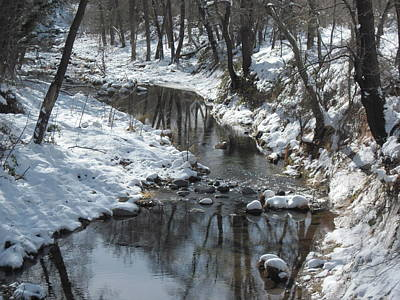 Photograph - Meandering Stream by Sandy Tracey