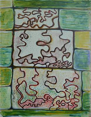 Excursion Mixed Media - Meanders by Bob Rowell