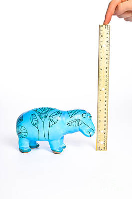 Measuring Height Art Print by Photo Researchers, Inc.
