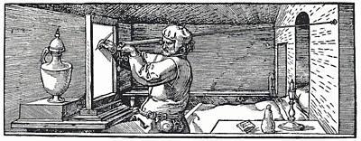 Measuring Perspective For Art Art Print