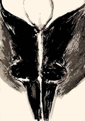 Meatwoman Art Print by Nesli Sisli
