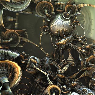 Mechanical Panic Art Print