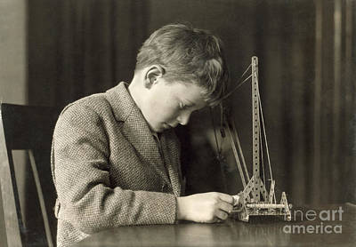 Photograph - Mechanical Toy, C1924 by Granger