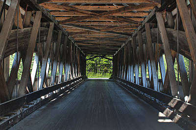 Photograph - Mechanicsville Road Bridge Interior by At Lands End Photography