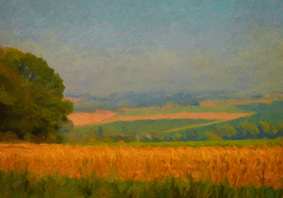 Impressionism Painting - Mechelen Landscape by Nop Briex