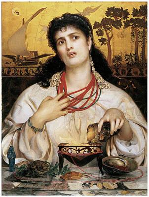 Medea Art Print by Frederick Sandys