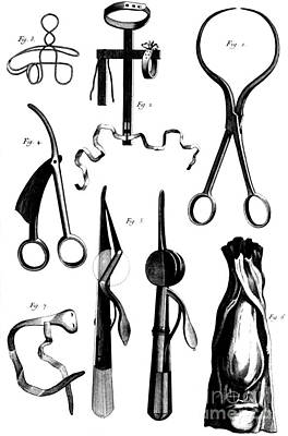 Photograph - Medical Instruments, 18th Century by Science Source