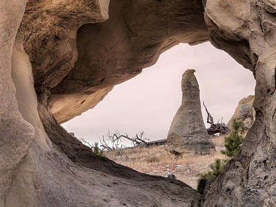 Photograph - Medicine Rocks Sandstone Formations by Leland D Howard
