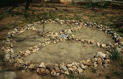 Medicine Wheel Photograph - Medicine Wheel, Sedona, Arizona by David Edwards