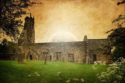 Mansion Digital Art - Medieval Church by Svetlana Sewell
