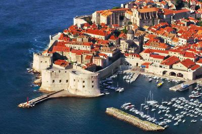 Photograph - Medieval Harbor- Dubrovnik by John Galbo