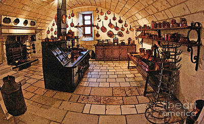 Digital Art - Medieval Kitchen by Paul Topp