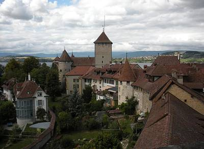 Marilyn Photograph - Medieval Murten Switzerland by Marilyn Dunlap