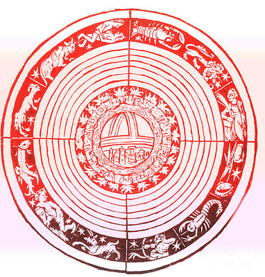 Medieval Zodiac Art Print by Science Source