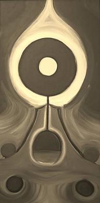 Greenworldalaska Photograph - Meditate Sepia by Cory Green