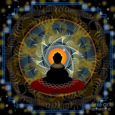 Digital Art - Meditation 2012 by Kathryn Strick