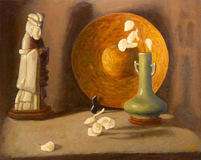 Art Print featuring the painting Meditation by Joe Bergholm