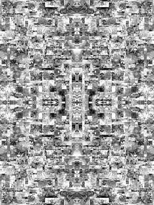 Meditative Digital Art - Meditative Alliance  by Betsy Knapp