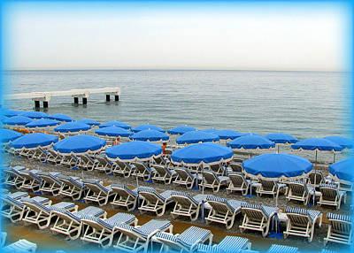 Photograph - Mediterranean Blue by Carla Parris