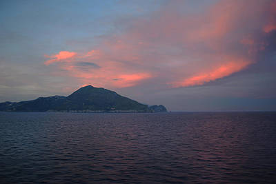 Photograph - Mediterranean Dusk. by Terence Davis