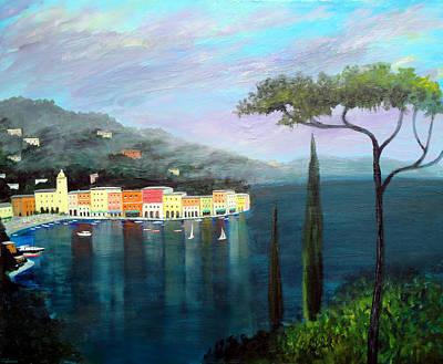 Mediterranean  Mist Art Print