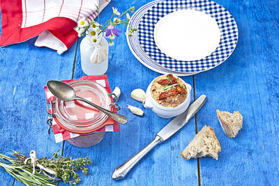 Paste Photograph - Mediterranean Spreads by Joana Kruse