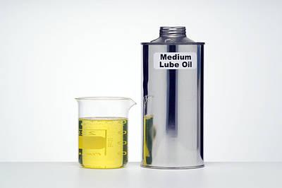 Medium Lubricating Oil Art Print by Paul Rapson