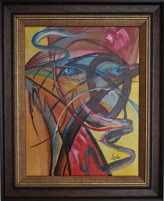 Painting - Medusa by Linda Ferreira