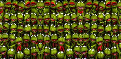 Photograph - Meet The Froggers by Wayne Sherriff