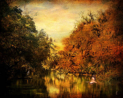 Meeting Of The Seasons Art Print by Jai Johnson