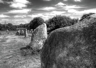 Megalithes In Carnac Art Print by Philwebbphotography