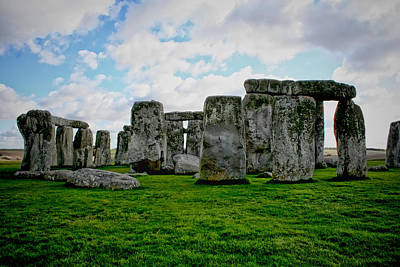 Stonehenge Photograph - Megaliths by Heather Applegate