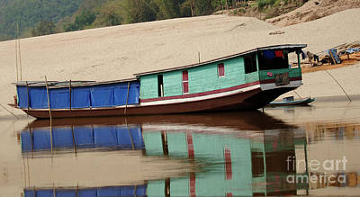 Photograph - Mekong Reflections 2 by Bob Christopher