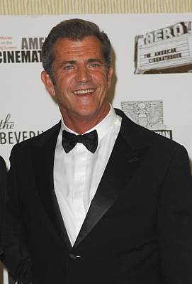 Mel Gibson In Attendance For 25th Art Print by Everett